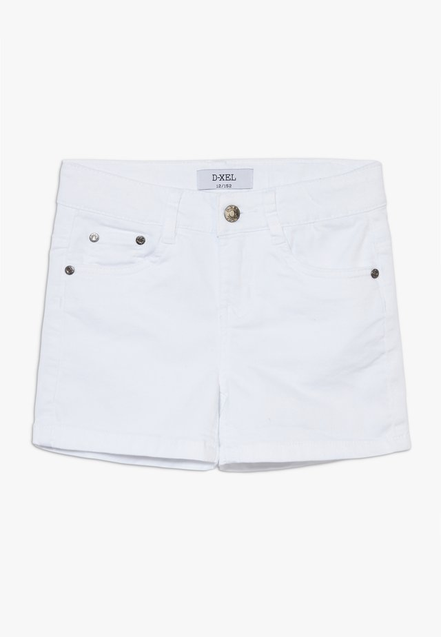 SVANA - Denim shorts - white