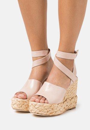ATUEL - High heeled sandals - light pink
