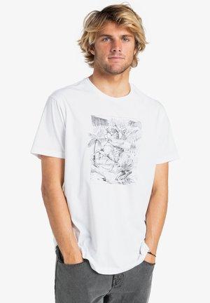 HELL RIDE - Print T-shirt - white