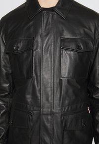 Bally - JACKET - Veste en cuir - black - 4