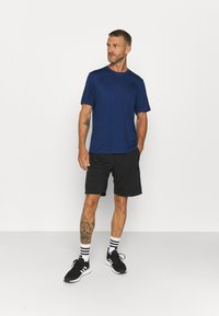 adidas Performance - T-shirts basic - team royal blue melange/black - 1