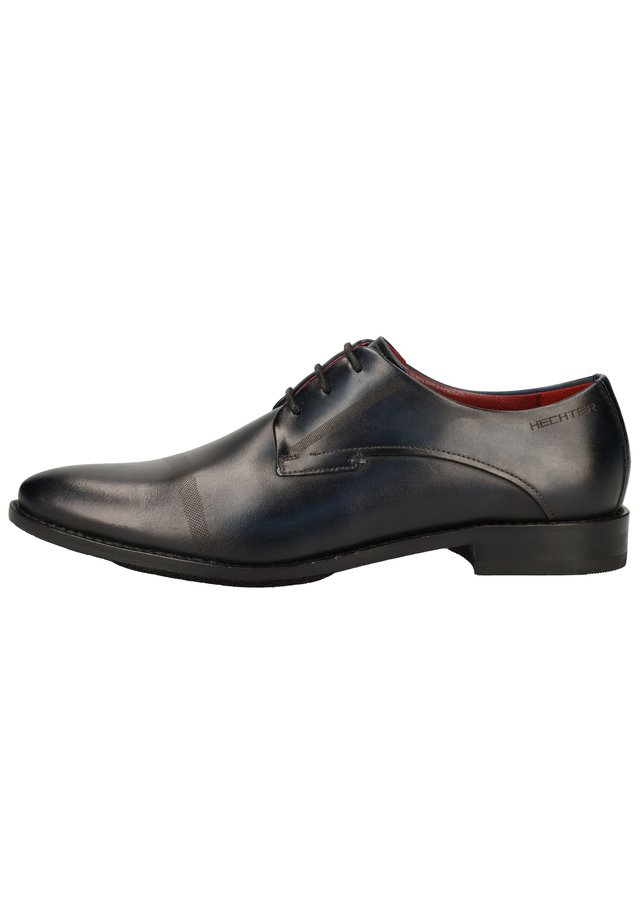 Smart lace-ups - dark blue 4100