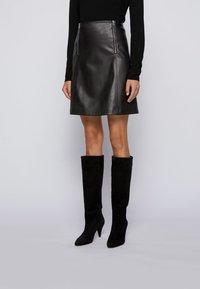BOSS - A-line skirt - black - 0