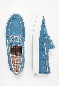 Sperry - BAHAMA KICK BACK - Boat shoes - slate blue - 1