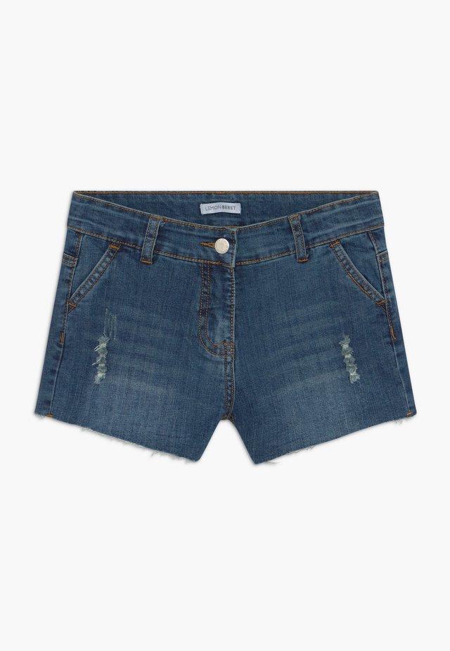 TEEN GIRLS SHORTS - Shorts vaqueros - dark blue