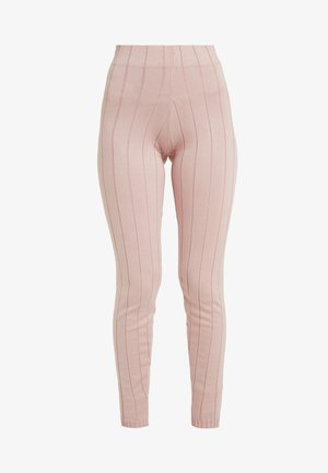 STRAIGHT LEG TROUSERS - Trousers - pink