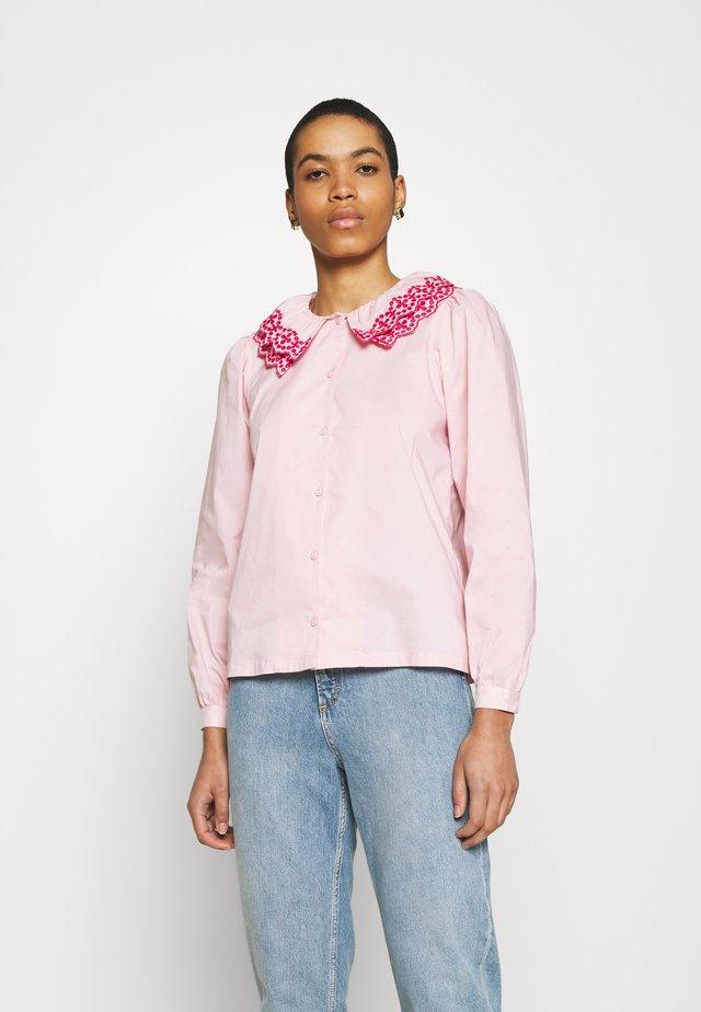 DORETHEA - Button-down blouse - pink
