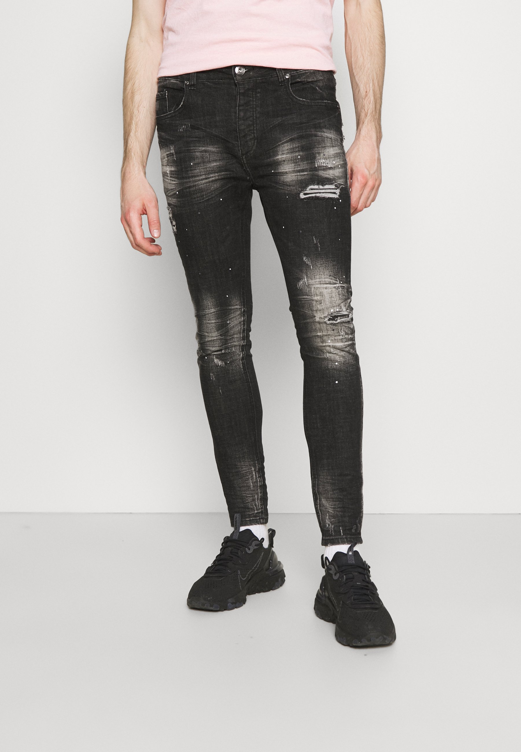 Herren OVERTON SUPERSLIM JEAN - Jeans Skinny Fit