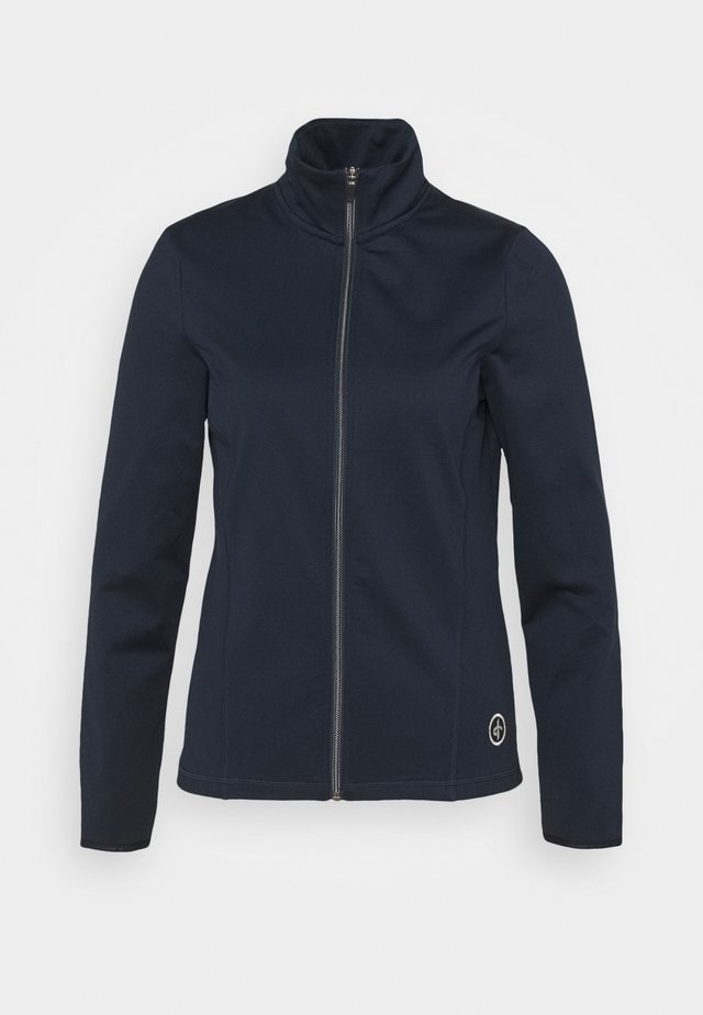 WOMENS TECH FULL ZIP - Veste polaire - navy