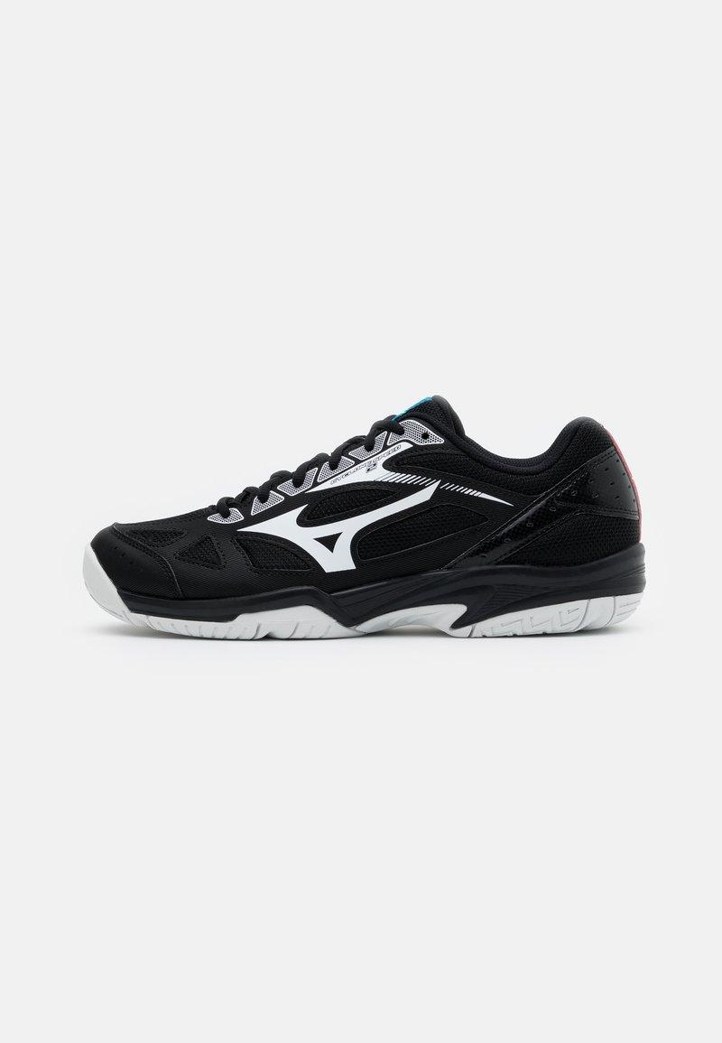 Mizuno - CYCLONE SPEED 2 - Tenisové boty na všechny povrchy - black/white/divablue