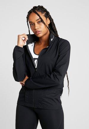 Sports jacket - black/reflective silver