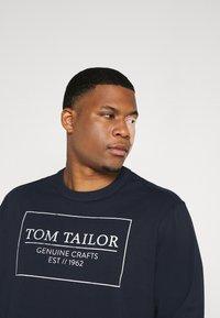 TOM TAILOR MEN PLUS - Long sleeved top - dark blue - 3