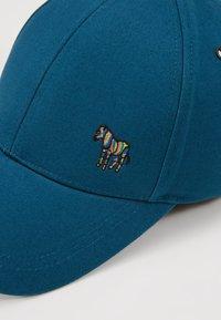 PS Paul Smith - ZEBRA BASEBALL  - Caps - turquise - 6