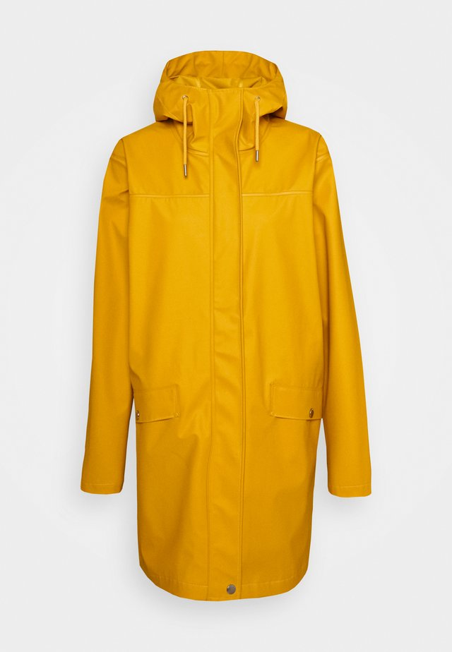 MOSS RAIN COAT - Waterproof jacket - essential yellow