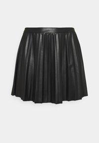 Glamorous Curve - LADIES SKIRT - Mini skirt - black - 0