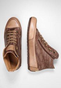 Candice Cooper - PLUS 04 - Sneakers alte - cardiff legno/base tamp tortora - 3