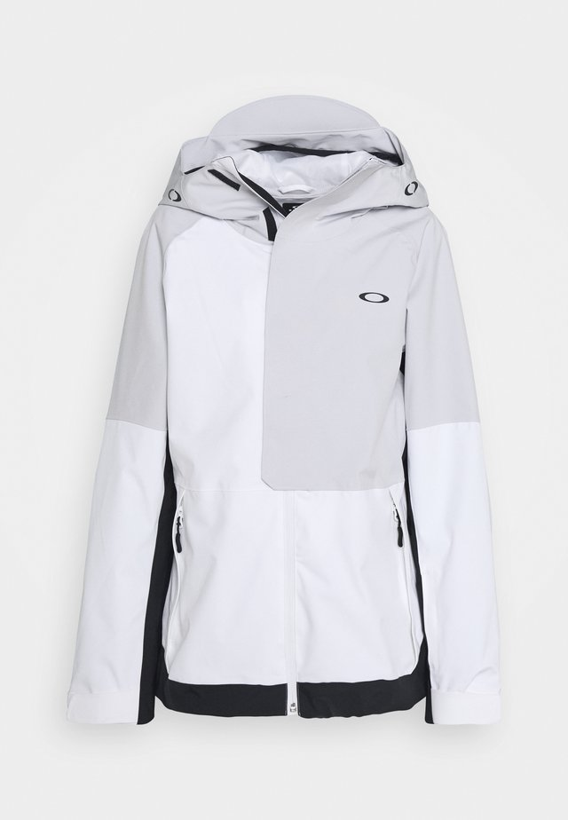 CAMELLIA SHELL JACKET - Snowboardjacka - white/grey
