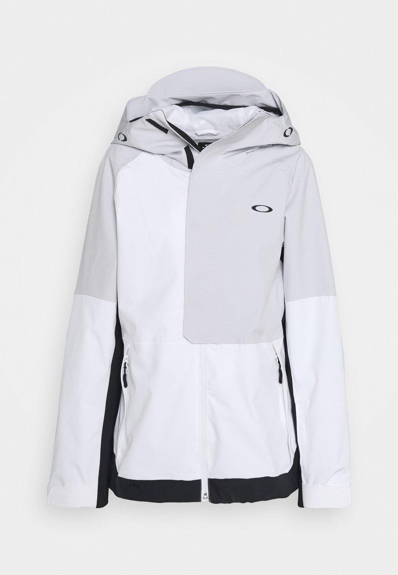 Oakley - CAMELLIA SHELL JACKET - Snowboard jacket - white/grey