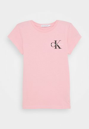 CHEST MONOGRAM - Print T-shirt - pink