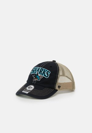 SAN JOSE SHARKS TUSCALOOSA CLEAN UP - Cap - vintage black