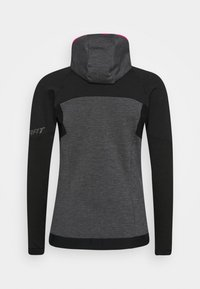 Dynafit - TOUR THERMAL HOODY - Fleece jacket - black out - 1