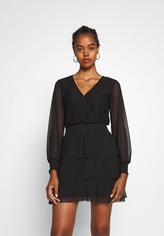 ALICE DRESS - Korte jurk - black