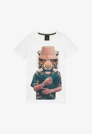 PEPE TEE - Print T-shirt - bright white