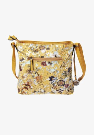 Across body bag - yellow multi-frost-mais