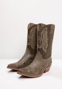 Kentucky's Western - Cowboy-/Bikerlaarzen - tint/olive - 2