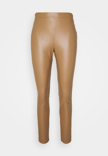 RANGHI - Leggings - Trousers - cammello