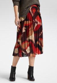 Sandwich - A-line skirt - bordeaux - 0