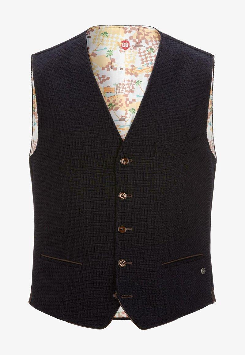 CG – Club of Gents - MIKE - Suit waistcoat - blau