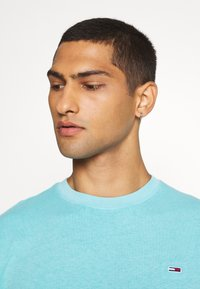 Tommy Jeans - SUNFADED WASH TEE - T-shirt basic - blue - 3