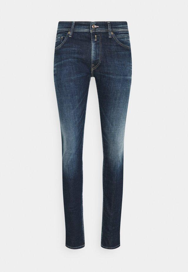 JONDRILL AGED - Jean slim - dark blue