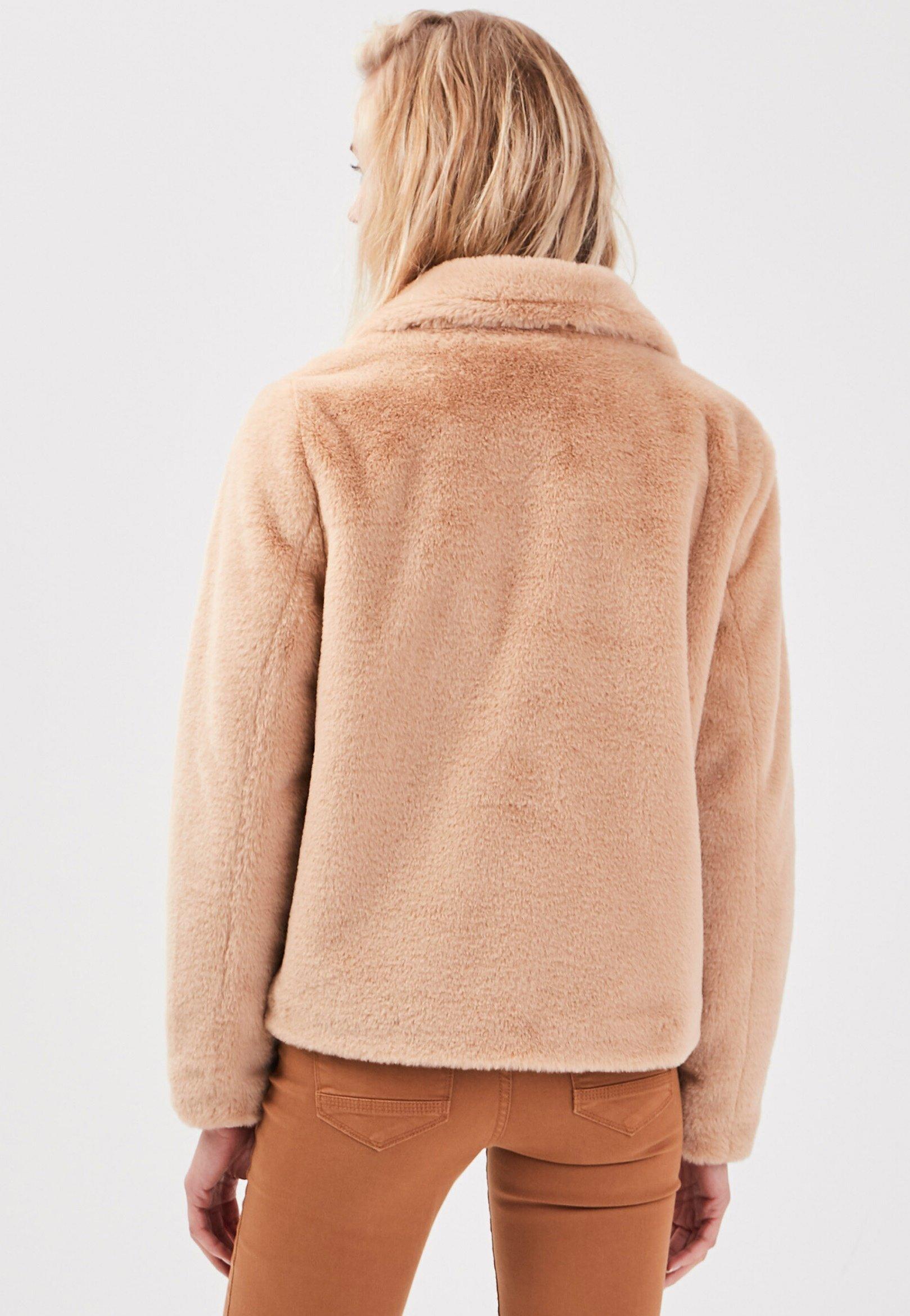 BONOBO Jeans Winterjacke beige