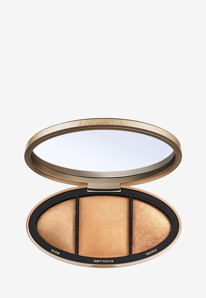 Too Faced - BORN THIS WAY TURN UP THE LIGHT HIGHLIGHTING PALETTE - Highlighter - tan