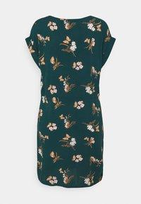 Vero Moda - VMSIMPLY EASY TIE SHORT DRESS - Day dress - sea moss/ann - 1