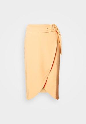 DARA SKIRT - Pencil skirt - orange