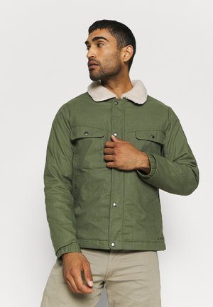 MENS MANUKAU PADDED JACKET - Zimní bunda - cedar wood