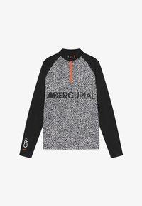 Nike Performance - CR7 DRY DRIL - Fleece jumper - black/white - 2