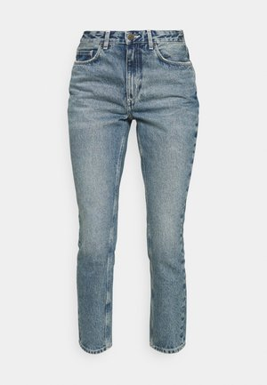 BUSBOROW - Straight leg jeans - blue dirty
