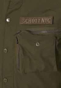 Schott - Winter jacket - khaki - 4