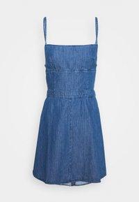 Pepe Jeans - DAZZLE - Denimové šaty - denim - 4