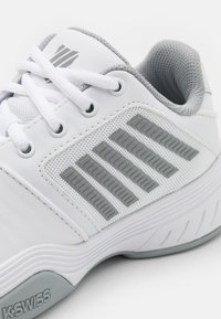 K-SWISS - COURT EXPRESS CARPET - Carpet court tennis shoes - white/high rise/silver - 5