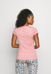 Under Armour - Jednoduché triko - pink/silver-coloured - 2