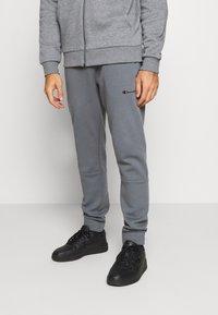 Champion - ELASTIC CUFF PANTS - Tracksuit bottoms - grey - 0