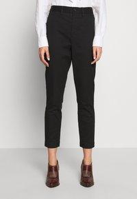 Polo Ralph Lauren - SLIM LEG PANT - Kalhoty - black - 0