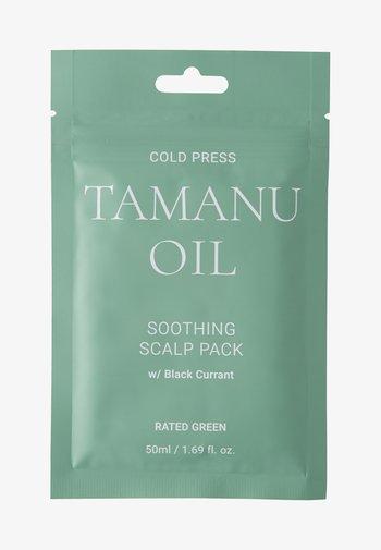 COLD PRESS TAMARU OIL SOOTHING SCALP PACK W/ BLACK 2 PACK