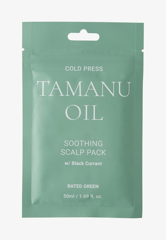 COLD PRESS TAMARU OIL SOOTHING SCALP PACK W/ BLACK 2 PACK - Hårsæt - -