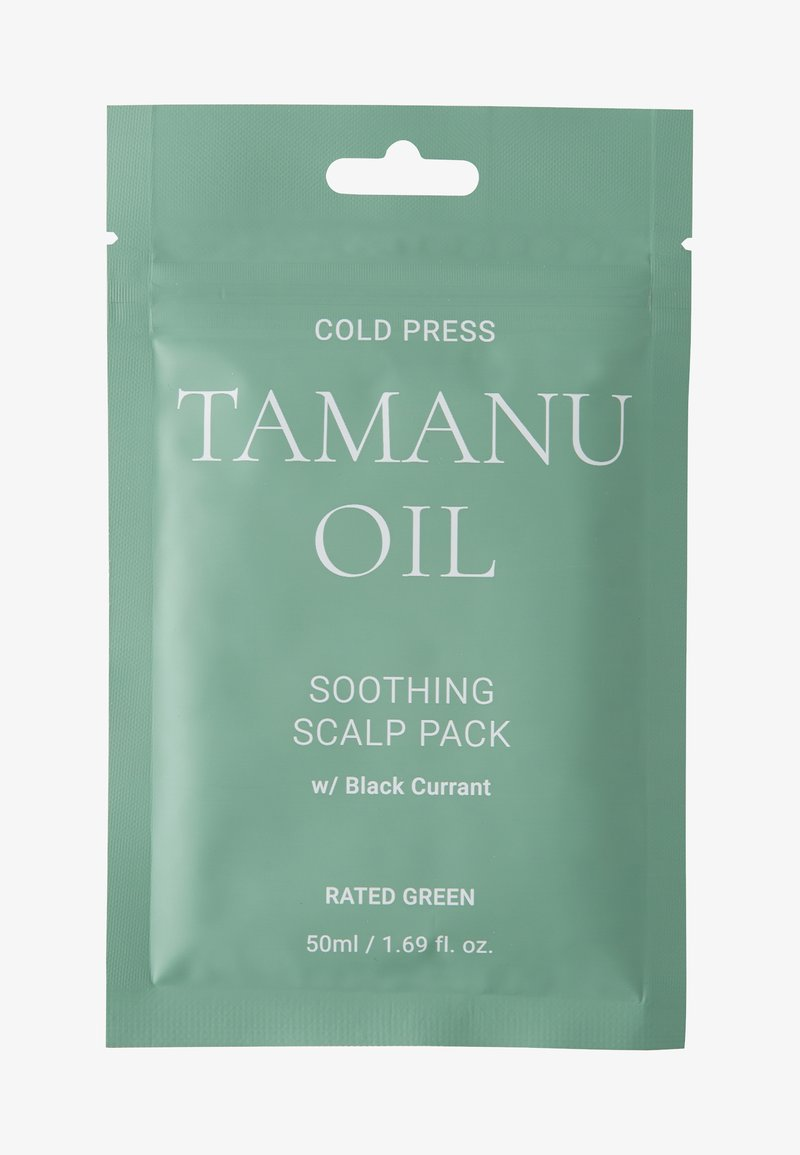 RATED GREEN - COLD PRESS TAMARU OIL SOOTHING SCALP PACK W/ BLACK 2 PACK - Kit capelli - -